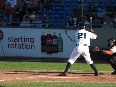 Griffin Andreychuk, 'Cats batting leader